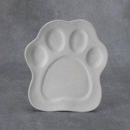 Paw Print Plate - Case of 6