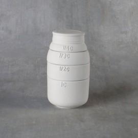 Mason Jar Measuring Cups - Set of 4