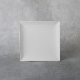 Square Coupe Dinner Plate - Case of 12