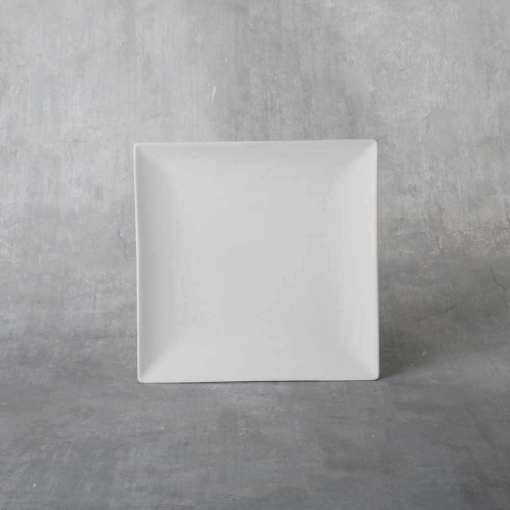 Square Coupe Salad Plate